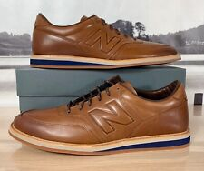 New Balance 1100 Leather Walking Shoes Brown Blue MD1100LB Men's ALL SIZE 4E