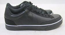 new Nike Navaro Low Black/Black-Anthracite-White 386587 001 Size 9.5