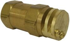 Boomless Spray Nozzle 14 Fpt 2 Orifices 90 Amp 180 Caps 1 Gpm 40 Psi