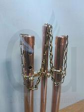 Handmade, Copper, Brass, Vertical Incense Stick Holder / Burner Ash Catcher.