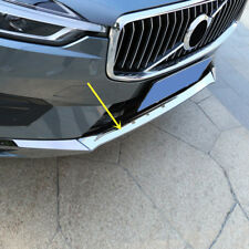 For VOLVO XC60 2018 Stainless Steel Chrome Front Bottom Bumper Cover Trim 3pcs