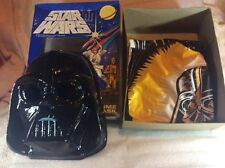rare ben cooper 1977 star wars lord darth vador mask and costume set