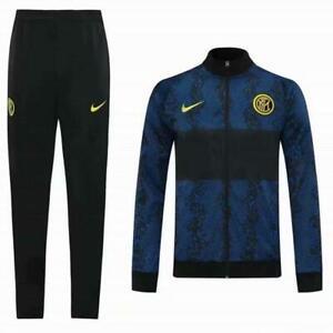 Inter Milan 20/21 football sportswear jersey training suit jacket + pants