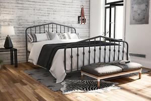 Novogratz Bushwick Metal Bed, Multiple Options Available