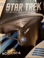 More details for star trek eaglemoss starship issue 72 uss enterprise a & magazine