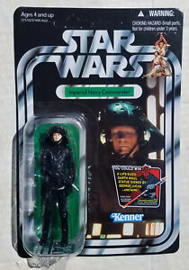 "Star Wars Imperial Navy Commander VC94 3.75"" Figure Vintage Collection 2012 MOC"