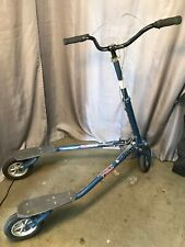 Trikke T78Air Adult Carving Scooter Blue 3 Wheel Folding Scooter - Local Pickup