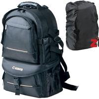 Professional DSLR SLR Camera Backpack Padded Travel Bag For Canon EOS Nikon Sony