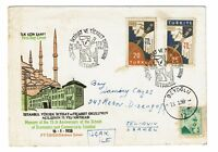 Turkey 1958 Zarfi First Day Cover - Z177
