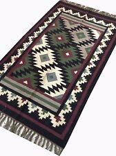 "Anatolia Turkey Classic Antalya Kilim 60"" x 35"" Area Rug Kilim Carpet"