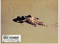 ALAIN NOURY JULIETTE VILLARD SEX-POWER 1970 VINTAGE PHOTO LOBBY CARD N°6