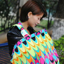 1 New Breastfeeding Cover Baby Nursing Soft Breathable Cotton Blanket Apron