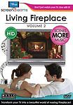 Screen Dreams: Living Fireplace, Vol. 2 (DVD, 2009) NEW Sealed