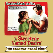 CD A Streetcar Named Desire (Un Tramway Nommé Désir) - Alex North - BOF / OST
