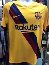 Nike Fc Barcelona Away Griezmann Soccer Jersey Yellow 2019-20 Size XL Only