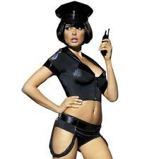 Lingerie Femme - Déguisement Sexy - Tenue sexy noire police par Obsessive - S-M