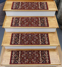 100% Wool Traditional Persian/Oriental Stair Treads