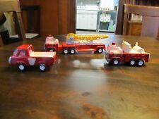 Vintage Buddy L Truck Lot Fire Truck Cars Die cast Vehicles