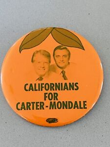 """Vintage 1976 Jimmy Carter Presidential Campaign Button 1 1//8/"""""""