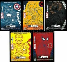 MARVEL MASTERPIECES 2007 SERIES 1 SUBCASTS SET (5) lot 100