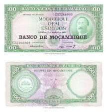 Mozambique 100 Escudos 1961 (1976) P-117 billets UNC