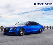 20x11 +28 Rohana RC7 5x112 Graphite Wheels For 2014 2015 Audi RS5 Rims Set 4