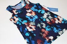Simply Vera Wang Top Shirt Floral Women's Size XS Small NWT NEW Blouse