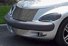 01-05 Chrysler PT Cruiser GTS Smoke Acrylic Headlight Covers Protection Pair NEW