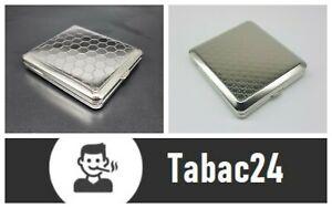 Angelo Zigaretten Etui Metall 2 Muster wählbar Silber TOP DEAL