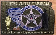 US Marshals Service - District of Kansas silver version Fugitive Apprehension TF