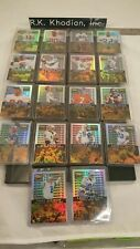 1996 NFL Pinnacle Zenith Noteworthy football cards complete set of 18