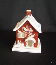 Coalport Porcelain Cottages Pastille Burner Red House