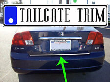 Honda CIVIC 2001 02 03 04 05 Chrome Tailgate Trunk Trim