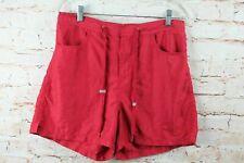 Body Glove Womens Shorts Sz M Red