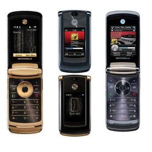 Unlocked Original Motorola Razr 2 V8 512MB 2GB 2.0MP Flip Java Cell Mobile Phone
