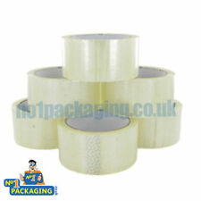12 BIG STRONG ROLLS *CLEAR PACKING PARCEL TAPE SELLOTAPE *66M*(2 INCH) FOR BOXES
