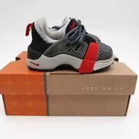 Nike Little Presto Gym Toddlers Shoes Black Gray Sneaker 3-4  9 Months New