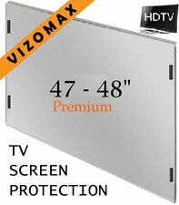 TV screen protector 47-48 inch protection for LCD LED Plasma HDTV damage proof