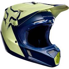 Fox V3 libra le Motocross Mx Casco-Azul Marino/Amarillo ENDURO MTB BMX MIPS