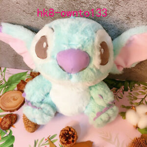 "2020 Cute Fluffy Stitch Plush Doll Stuffed Alien Toy Lio & Stitch Land Ver. 8"""
