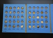 Whitman US Roosevelt Dime Collection 1946 Album 9029 with 25 Dimes