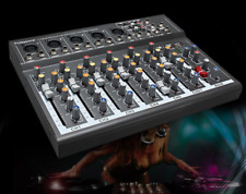 pro Karaoke Sound Mixer Board With Effects Digital Live Audio Usb Compact Dj New