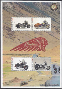Indonesia - Indonesie Special New Issue 2021 Motorcycle Indian (MS) # 1