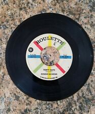 RONNIE HAWKINS FORTY DAYS/ONE OF THESE DAYS, ROULETTE RECORDS 45RPM, 1959.