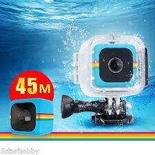 Polaroid Cube+ Action Camera Diving 45M Underwater Housing Waterproof Case
