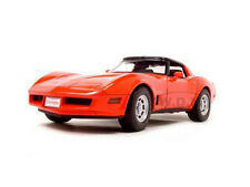 1982 CHEVROLET CORVETTE RED 1/18 DIECAST MODEL CAR BY WELLY 12546