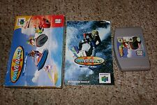 Wave Race 64 (Nintendo 64 n64, 1996) Complete in Box GOOD A B C