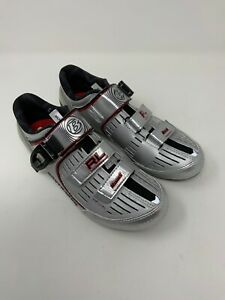 Bontrager Inform Cycling RL Road Shoes Esoles Size US 7.5 Silver Series Carbon