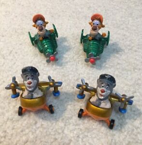 Lot 4 Disney TaleSpin Die-cast Toy Figures Airplane McDonald's Happy Meal 1989