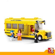 Juguete Educativo de Construccion SLUBAN Bus Escolar 291PZS - M38-B0507